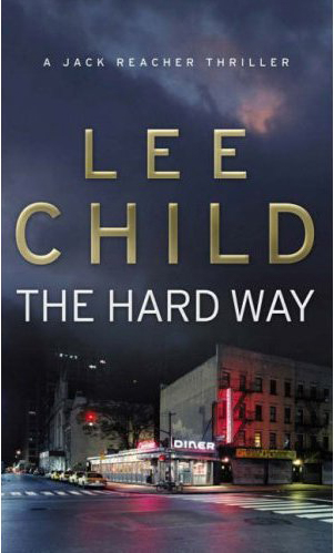 who writes the jack reacher novels Martin attempts to write in child's jack reacher style,  and the reacher books are characterized by the catch-phrase,.